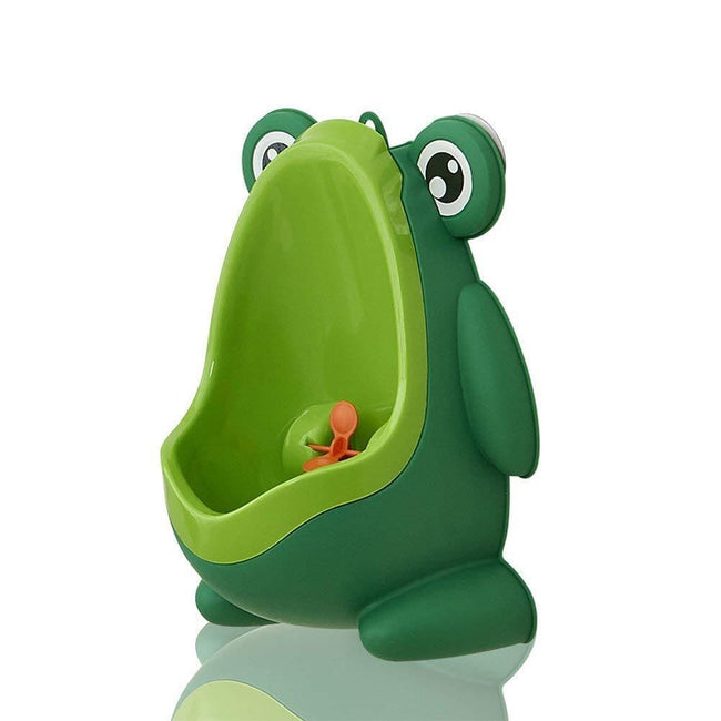 Frog Children Potty Toilet Training Kids Urinal Boys Pee Wee Trainer (Coffee Brown) Home