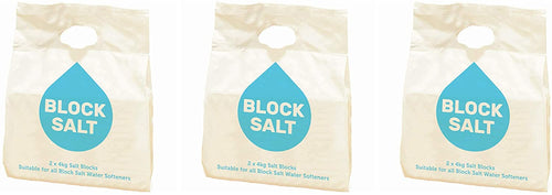 Harvey Water Softeners Block Salt Salt Blocks - 3 Packs = 6 Blocks