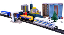 Load image into Gallery viewer, Industrial Mega City Train Set For Children