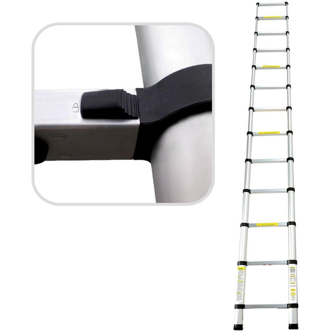 Telescopic I Type | Straight Extendendable Extension Ladder EN131 MAX Load 150KG Ladders