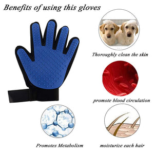 Re-usable Pet Grooming Gloves |Deshedding Groom Washing Gloves 1 Pair