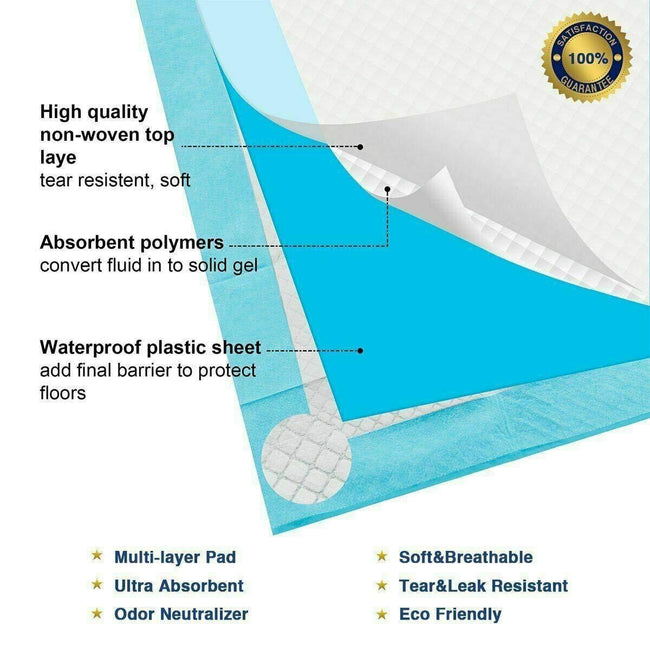 Thick Ultra Absorbent Pet Training Puppy Pads/Leak-proof Anti Slip Pee Mats Pet Products