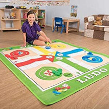 Load image into Gallery viewer, Giant Traditional Ludo Kit | Colourful Play-Mat