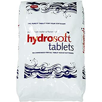3x Hydrosoft Salt Tablets, 25 Kg each Bag - Total 75Kg