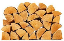 Load image into Gallery viewer, Kiln Dried{Approx 8.15KG Bag} Hardwood Burning Logs | FSC Approved | Long Burning Firelog for Campfire, Fireplace, Fire Pit, Indoor & Outdoor Use