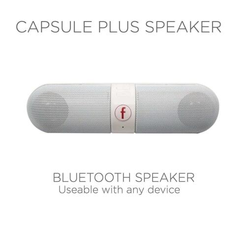 Bluetooth Capsule Wireless Portable Loud Travel Speaker