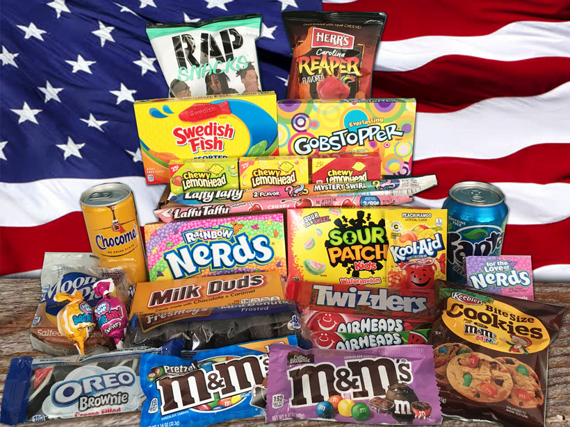 American Candy Set Boxes