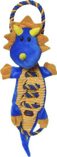 Charming Pet Products-Ropes-a-go Go Dragon Dog Toy