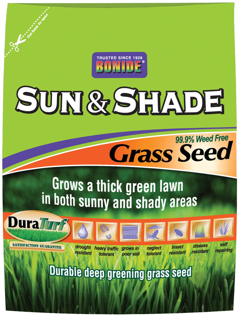 Bonide Grass Seed - Sun And Shade Grass Seed