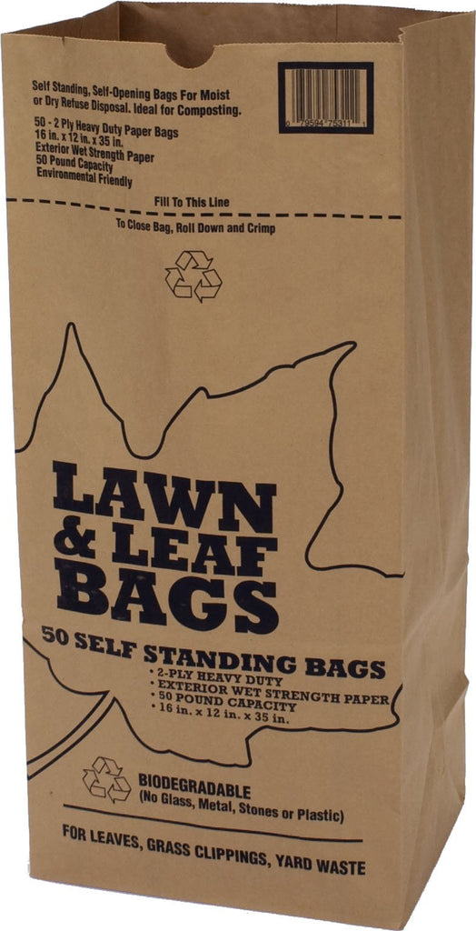 Bunzl Distribution      P - Lawn And Leaf Paper Bags (Case of 50 )