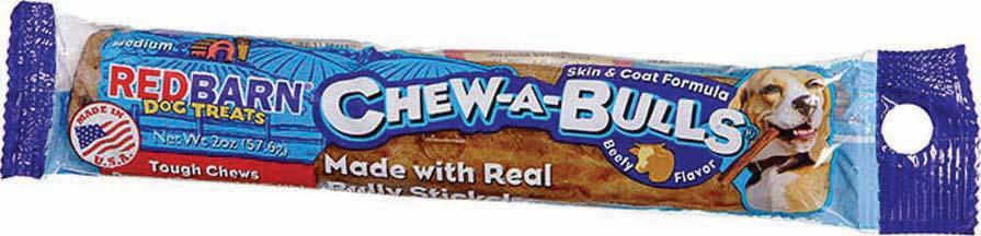 Redbarn Pet Products Inc - Chew-a-bull (Case of 40 )