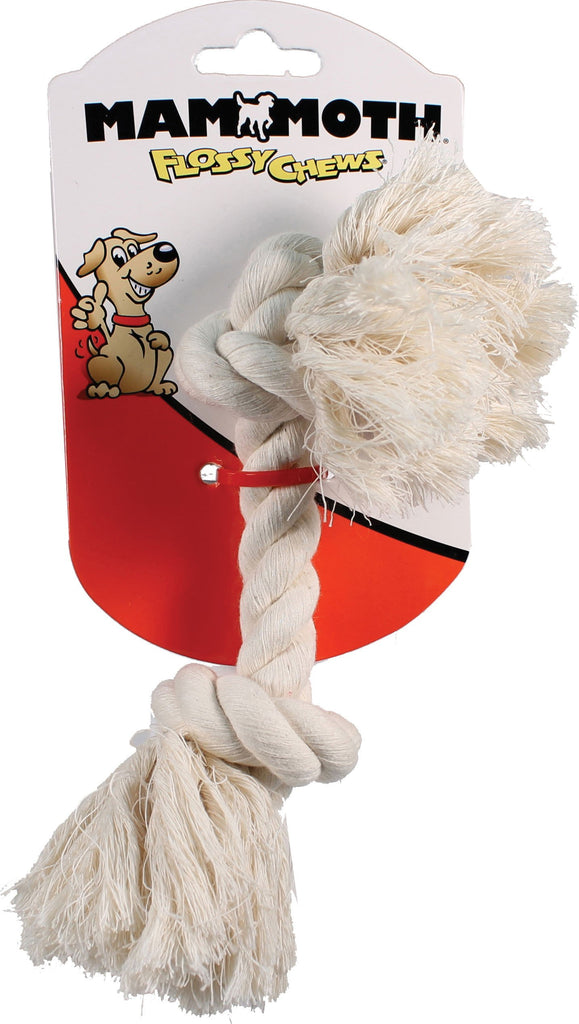 Mammoth Pet Products - Flossy Chews Cotton Rope Bone Dog Toy