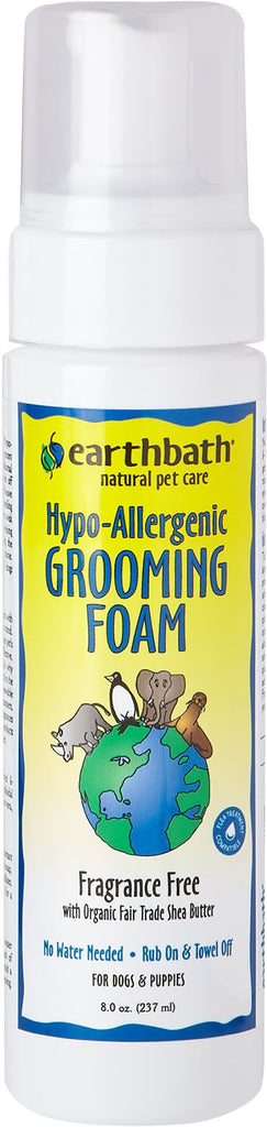 Earthwhile Endeavors Inc - Earthbath Waterless Grooming Foam Pump For Dogs