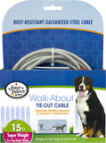 Four Paws - Container - Four Paws Dog Tie Out Cable-super Weight