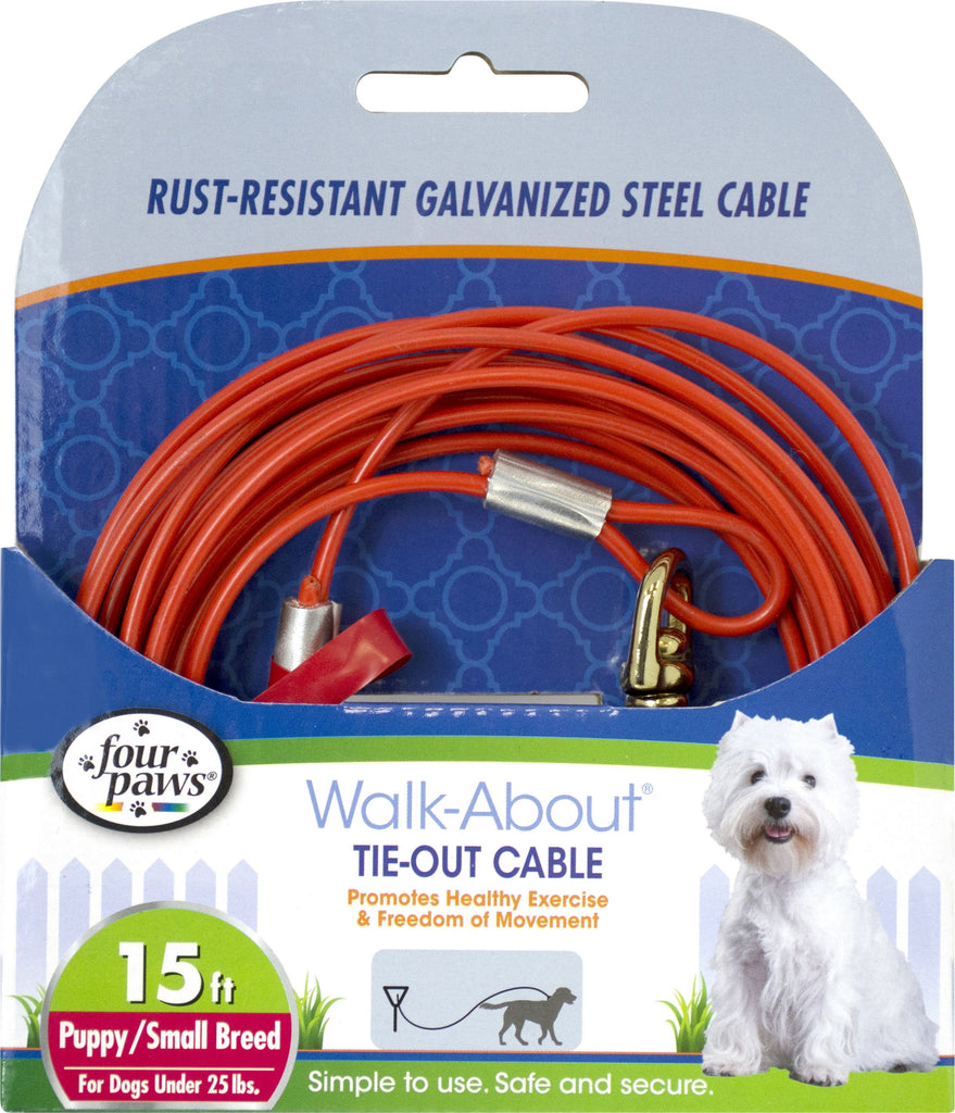 Four Paws - Container - Four Paws Tie Out Cable-puppy