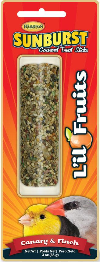 Higgins Premium Pet Foods - Sunburst Gourmet Treat Sticks Lil Fruit For Canary