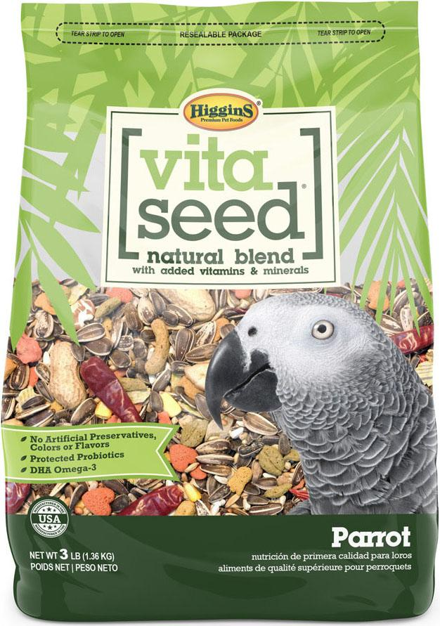 Higgins Premium Pet Foods - Vita Seed Natural Blend For Parrot
