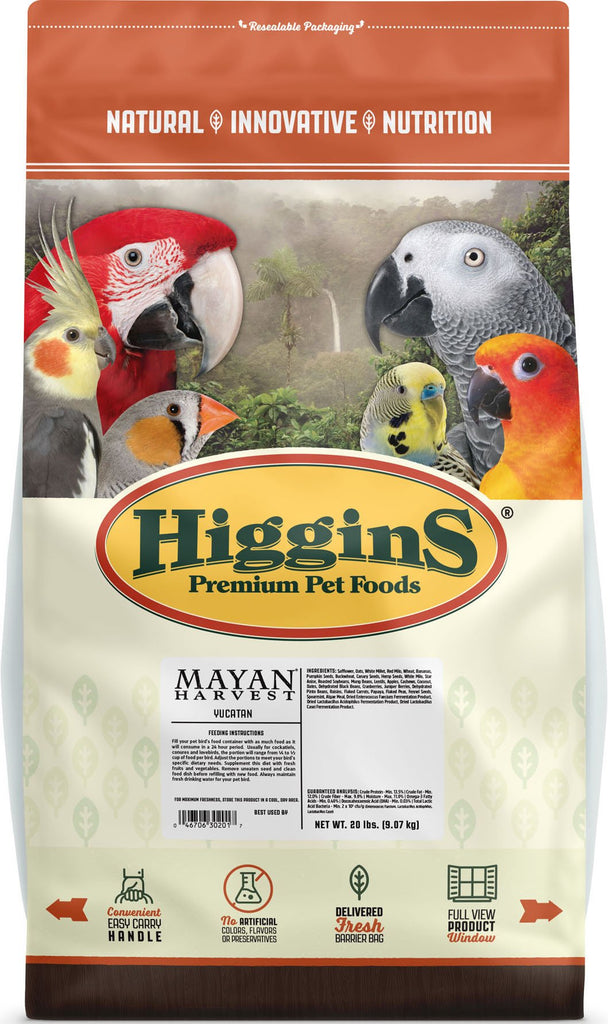 Higgins Premium Pet Foods - Mayan Harvest Natural Holistic Blend For Yucatan