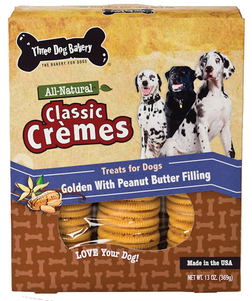 Three Dog Bakery - Classic Cremes Golden Cookies