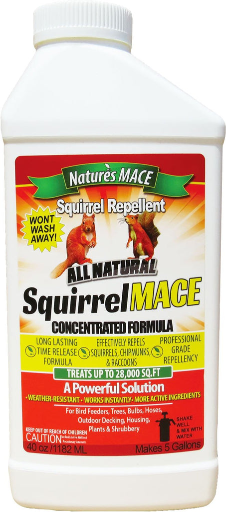 Natures Mace - Squirrel Repellent Concentrate