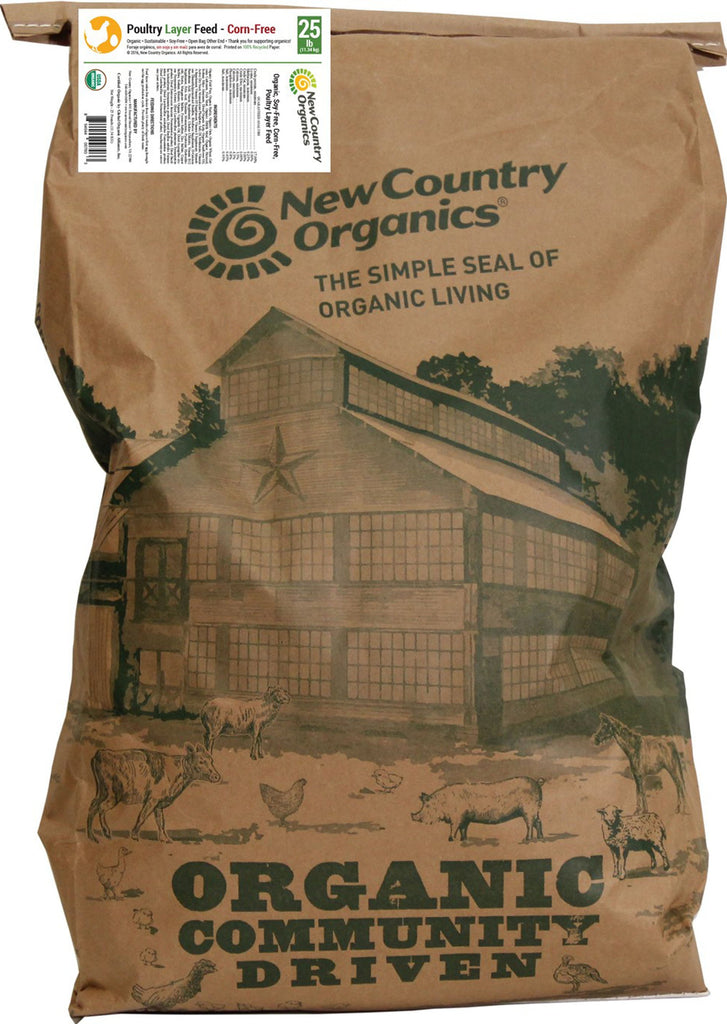 New Country Organics - Organic Corn Free Layer Feed