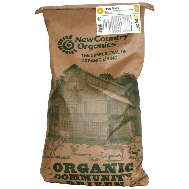 New Country Organics - Certified Organic Turkey Starter Feed