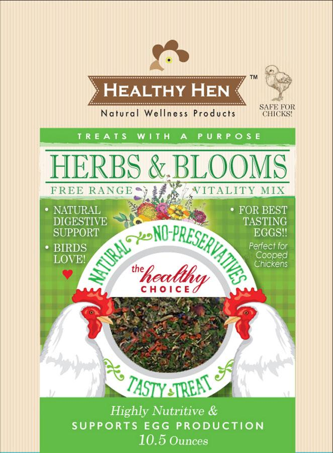 Innovation Pet - Poultry - Healthy Hen Herbs & Blooms Chicken Treat
