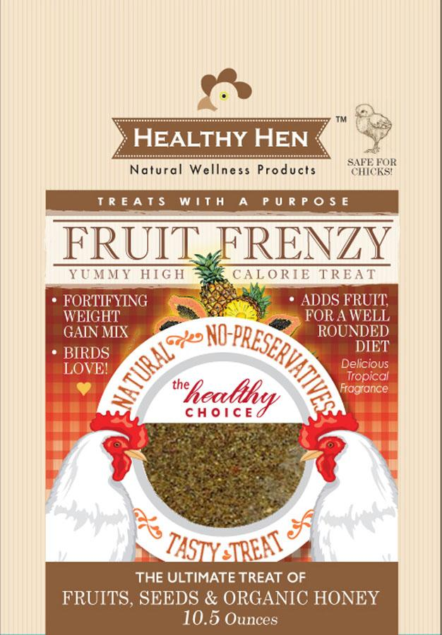 Innovation Pet - Poultry - Healthy Hen Fruit Frenzy Chicken Treat