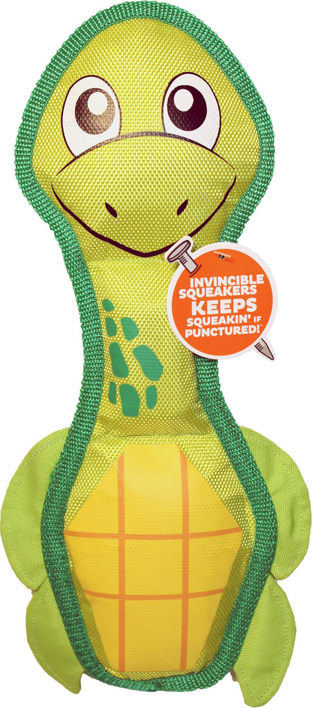 Petstages - Fire Biterz Sea Turtle Durable Fire Hose Toy