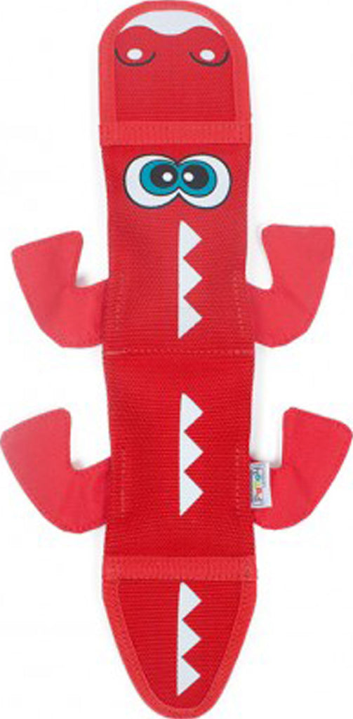 Petstages - Fire Biterz Dragon Durable Fire Hose Toy 2 Sqkers