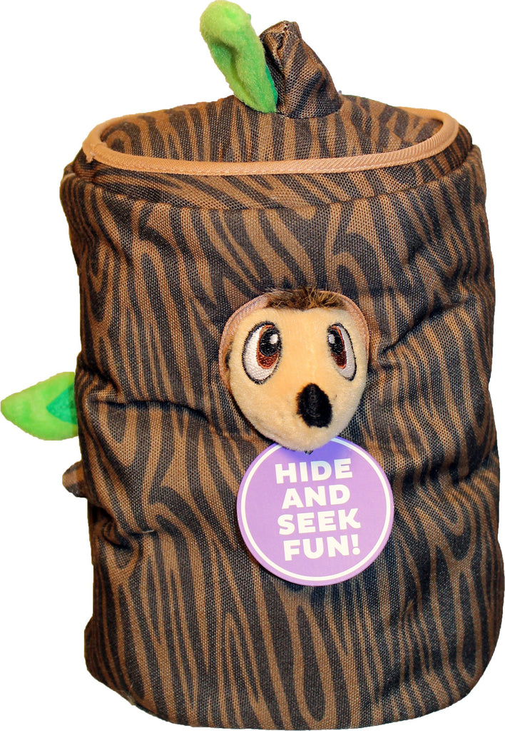 Petstages - Hide A Hedgie Puzzle Plush Dog Toy