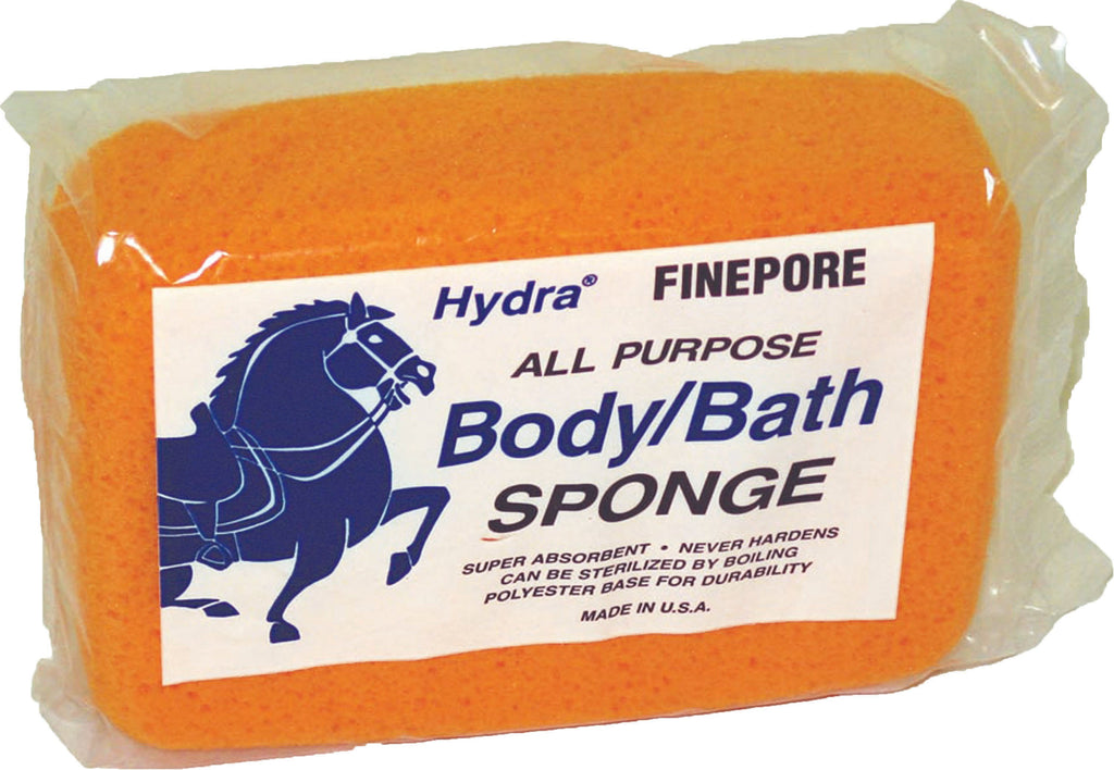 Foam Partner/hydra Sponge - Hydra Fine Pore All Purpose Body Sponge For Horses