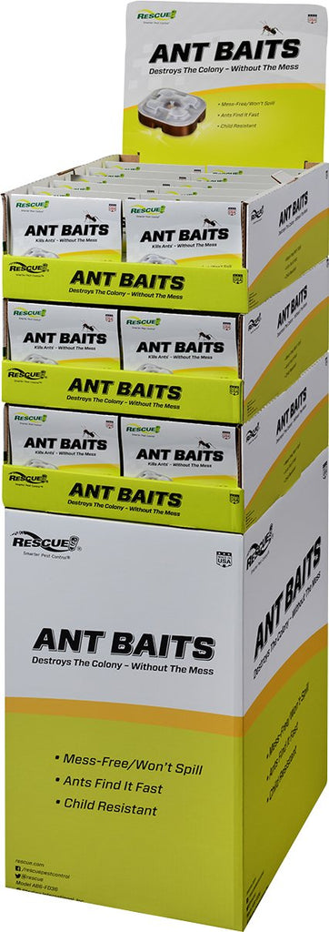 Sterling Intrntl Rescue - Ant Bait Floor Display