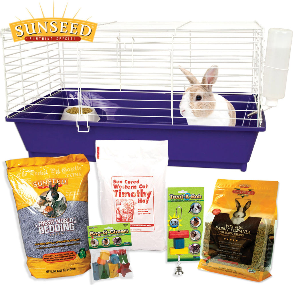 Ware Mfg. Inc. Bird/sm An - Home Sweet Home Sunseed Starter Kit Rabbit