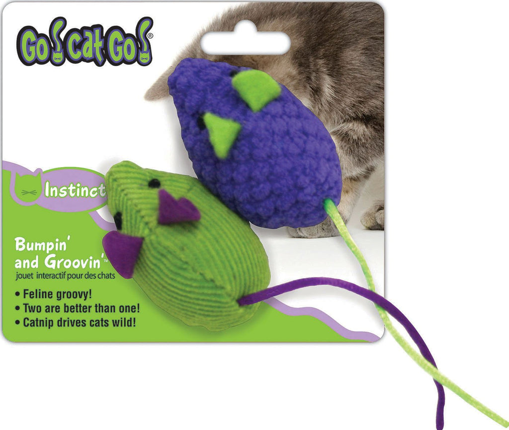 Ourpets Company-Go Cat Go Multi Mice