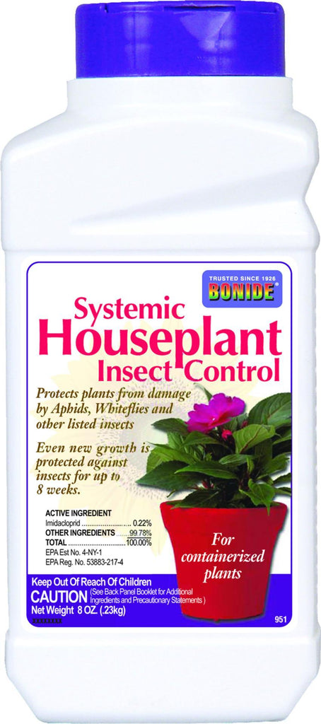 Bonide Products Inc     P - Systemic Houseplant Insect Control Granules