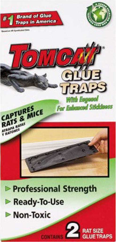 Motomco Ltd             D - Tomcat Prebaited Glue Boards Rat And Mouse Traps (Case of 12 )