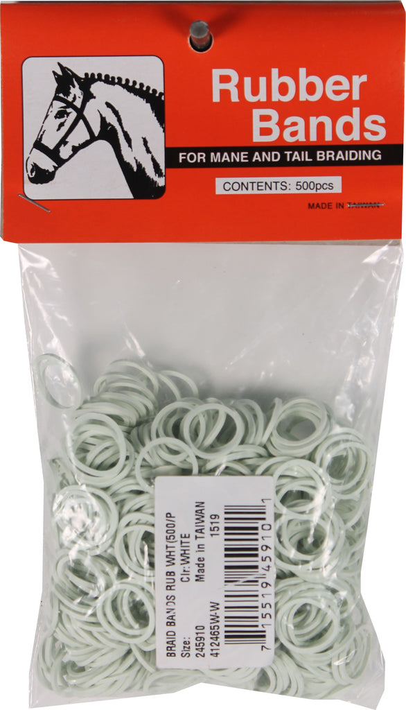 Partrade          P - Rubber Horse Braid Bands