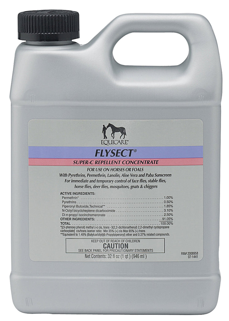 Farnam Co (equicare) - Equicare Flysect Super-c Repellent Concentrate