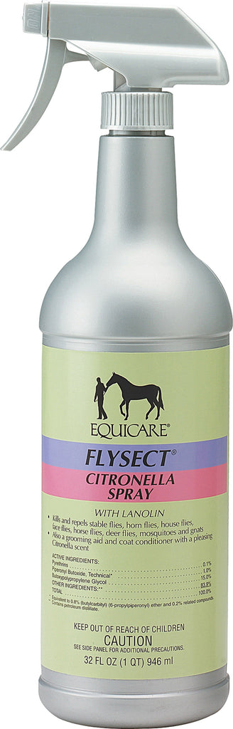 Farnam Co (equicare) - Equicare Flysect Citronella Spray With Lanolin