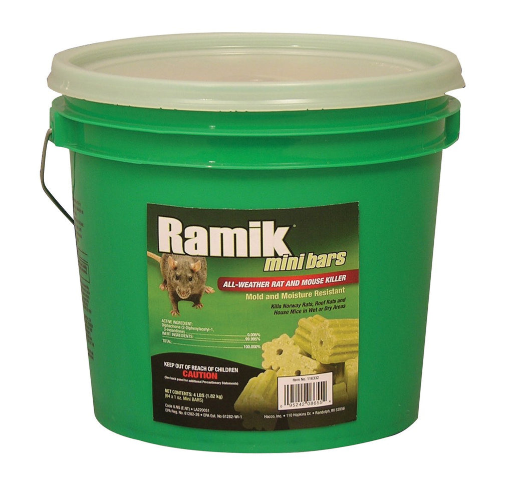 Neogen Rodenticide      D - Ramik Mini Bars Rat And Mouse Killer