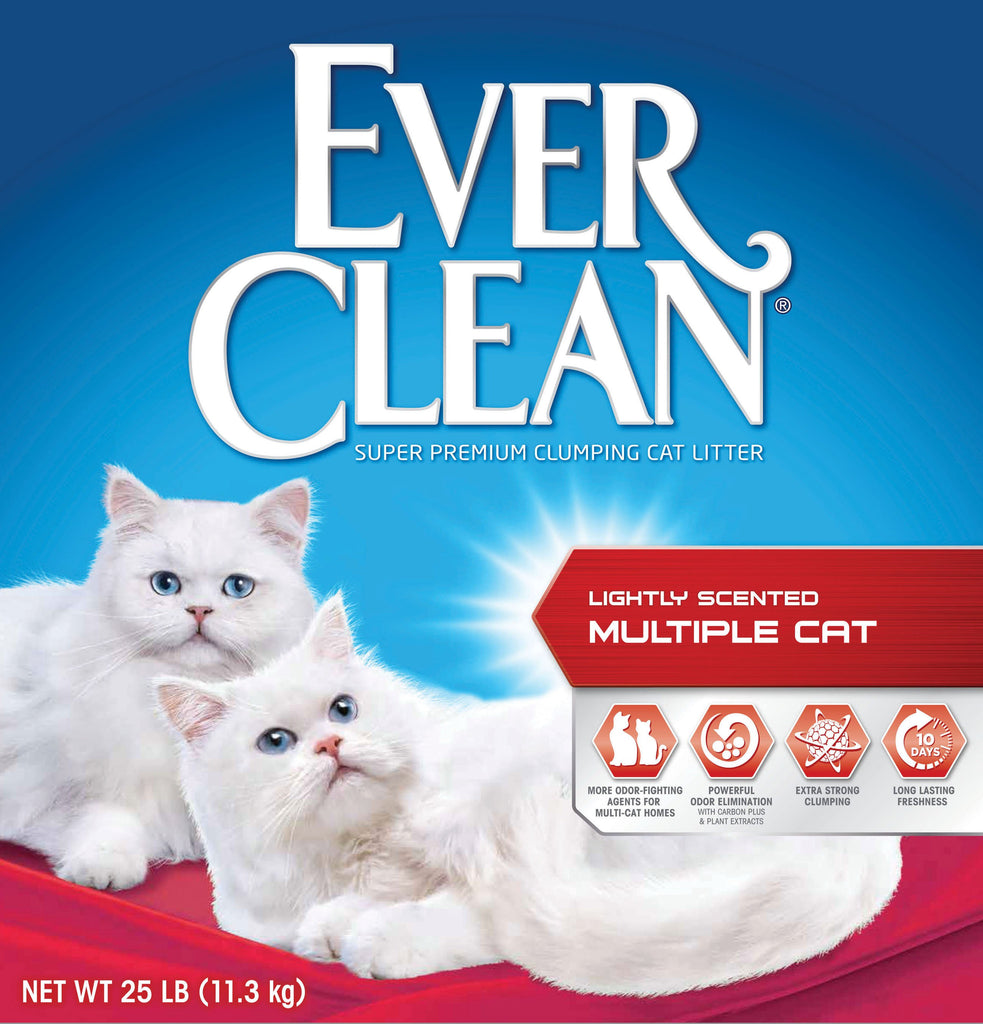 Clorox Petcare Products - Ever Clean Multi-cat Clumping Litter