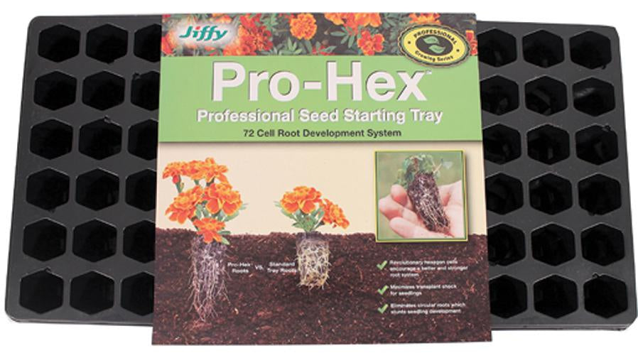 Jiffy/ferry Morse Seed Co - Pro-hex Tray Professional Seed Starting Tray