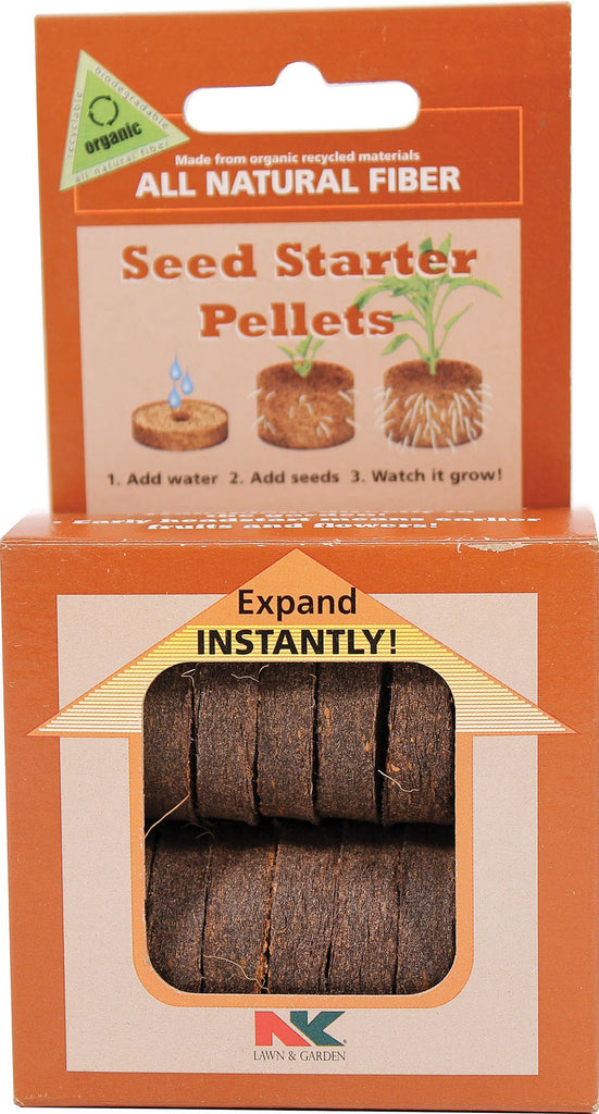 Jiffy/ferry Morse Seed Co - All Natural Fiber Seed Starter Pellets