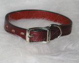 Hamilton Leather - Creased Leather Collar