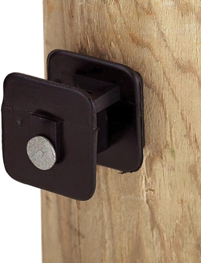 Dare Products Inc       P - Black Widow Insulator For Wood Post
