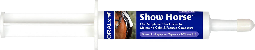 Oralx Corporation       D - Show Horse Calming Oral Supplement