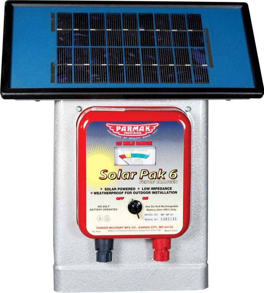Parker Mccrory/baygard  P - Parmak Deluxe Field Solar Pak6 Solar Fence Charger