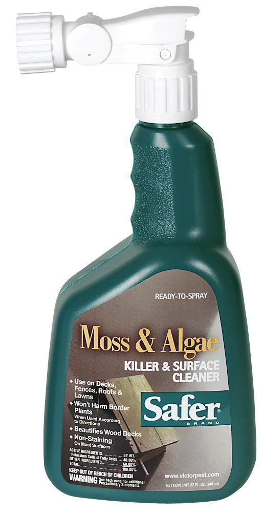 Woodstream Lawn & Grdn  D - Safer Moss And Algae Killer And Surface Cleaner