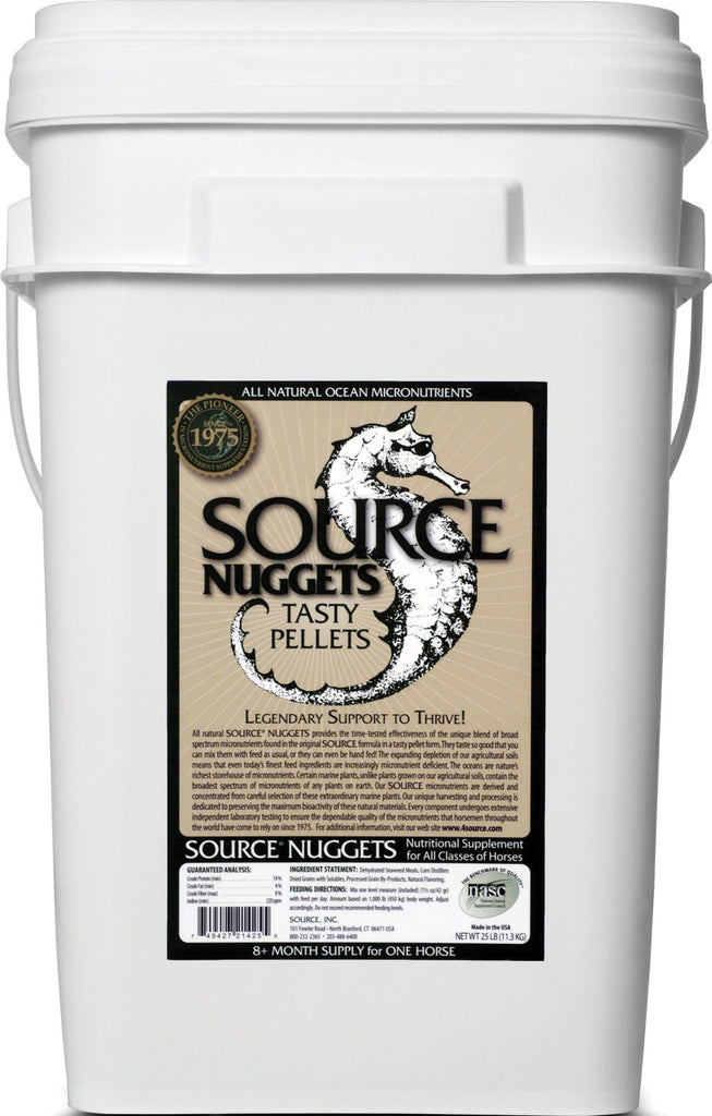 Source Inc - Source Nuggets Pelleted Micronutrient For Horses